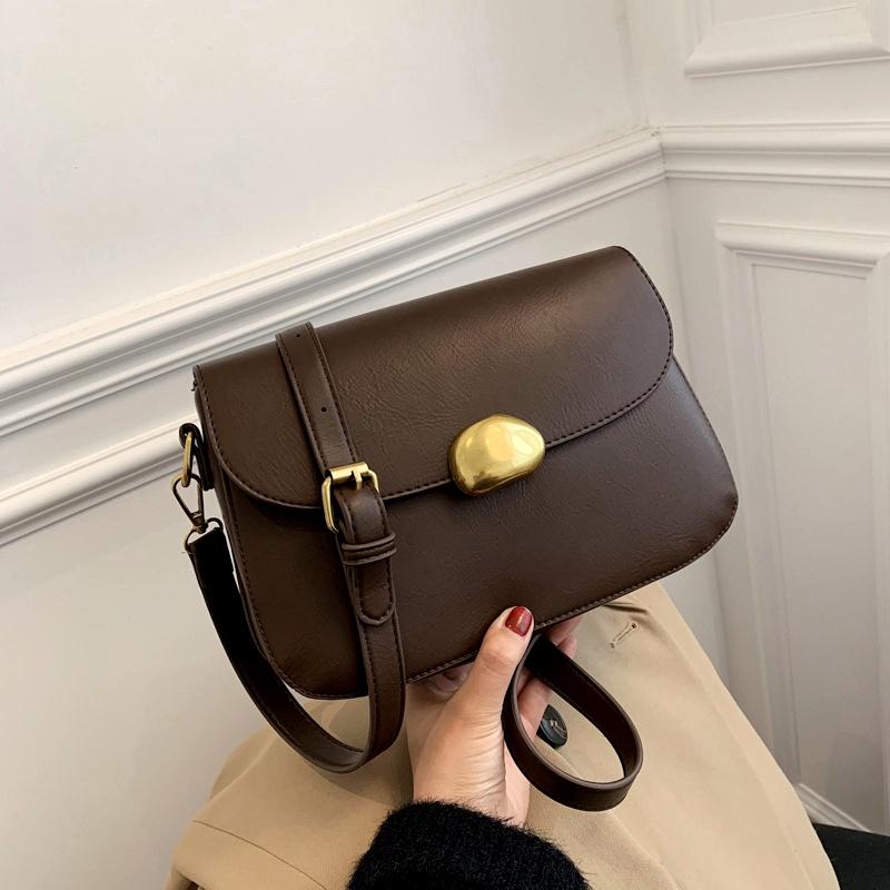 soft leather shoulder messenger bag  NHJZ291611