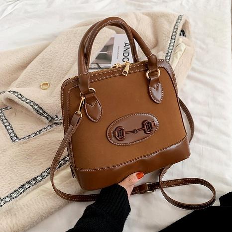 retro one-shoulder messenger bag NHJZ291631's discount tags