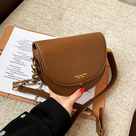 fashion single shoulder saddle bag  NHJZ291664's discount tags