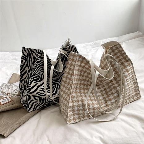 retro fashion large capacity shoulder bag NHEX291745's discount tags