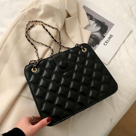 simple rhombic shoulder bag  NHEX291746's discount tags