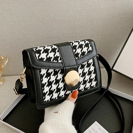 Fashion One Shoulder Messenger Small Square Bag NHEX291749's discount tags