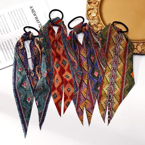 anillo de pelo con estampado de leopardo de moda NHAU291883's discount tags