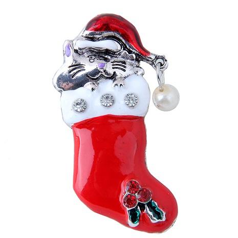 Mode Metall Weihnachten hohe Stiefel Brosche NHSC292169's discount tags