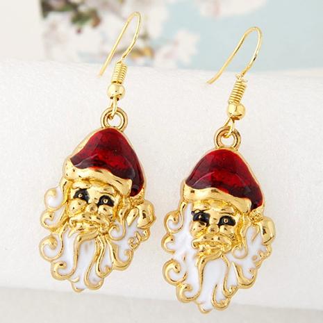 Boucles d'oreilles série de Noël en métal à la mode NHSC292168's discount tags