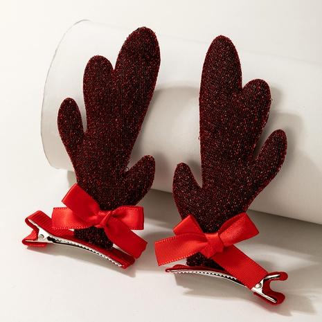 Clip de par de alces de peluche lindo de Navidad NHGY292157's discount tags