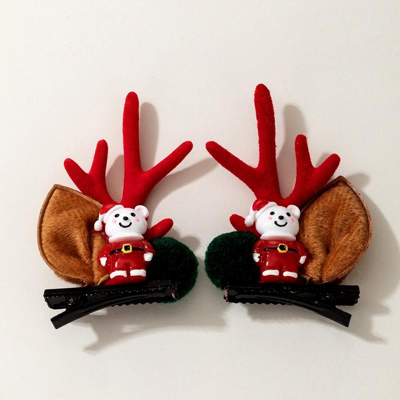 Christmas decoration  Santa Claus hairpin  NHGY292150