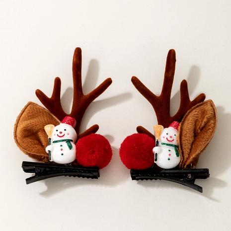 Clip lateral lindo cuernos navideños NHGY292151's discount tags