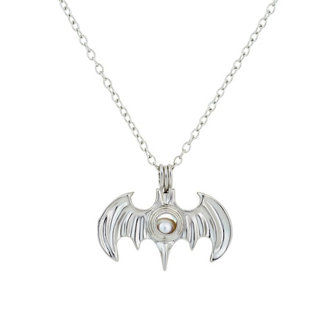 bat pendant pearl necklace NHAN291922's discount tags