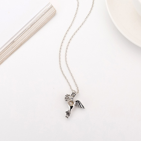 Fashion Peace Dove Pearl Necklace  NHAN291914's discount tags
