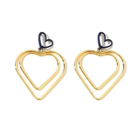 pendientes de moda en forma de corazón NHGY291550's discount tags