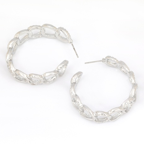 Simple C-shaped alloy earrings NHJE291940's discount tags