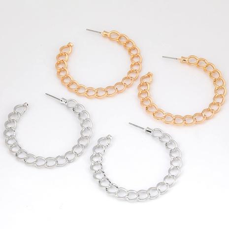 Boucles d'oreilles en alliage en forme de C NHJE291942's discount tags