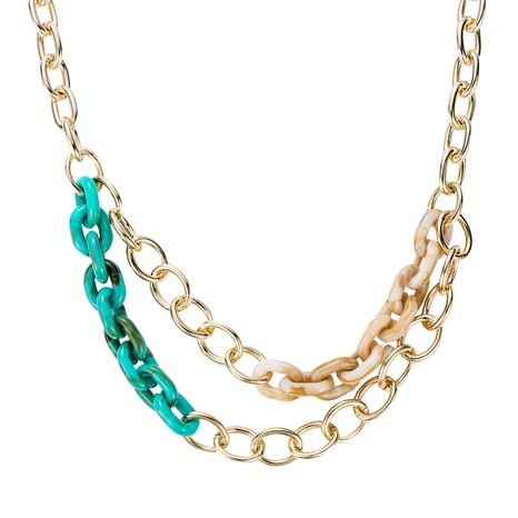 fashion thick chain necklace NHLN291965's discount tags
