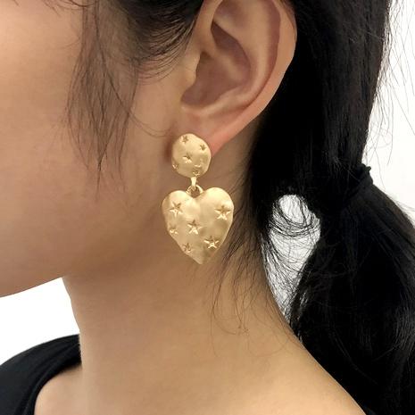 boucles d'oreilles rétro étoile à cinq branches NHMD291992's discount tags