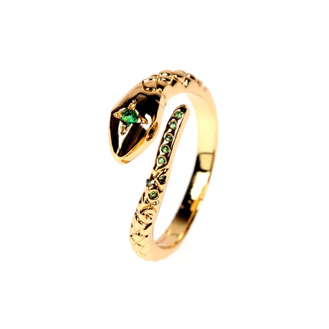 simple smart snake full diamond ring  NHPY292034's discount tags