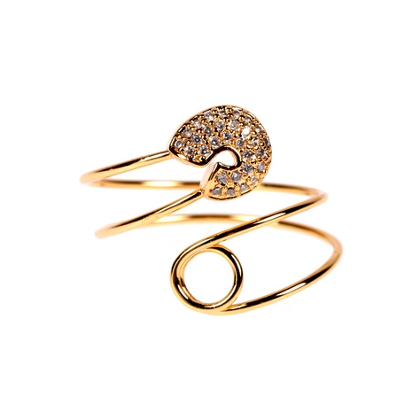 fashion trendy pin open ring NHPY292037's discount tags