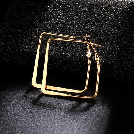 boucles d'oreilles diamant carré NHIQ292214's discount tags