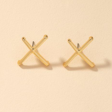 Boucles d'oreilles géométriques fantaisie NHGU292316's discount tags