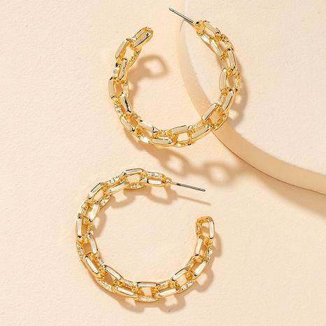 boucles d'oreilles chaîne de mode NHGU292318's discount tags