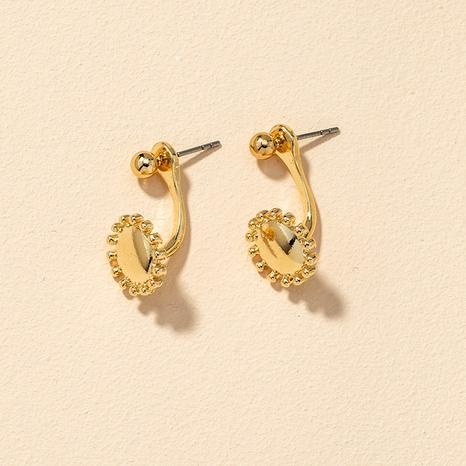 boucles d'oreilles en métal de mode NHGU292321's discount tags