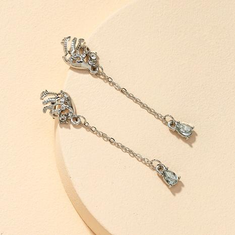 Fashion gem earrings  NHGU292322's discount tags