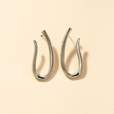 Fashion Metal Geometric Earrings NHGU292329's discount tags