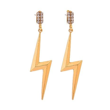 boucles d'oreilles en alliage de foudre NHOA292346's discount tags