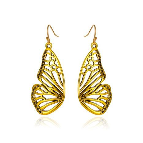 boucles d'oreilles papillon en or NHCU292396's discount tags