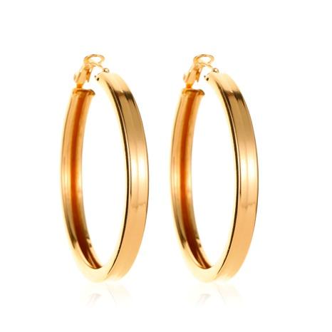 Boucles d'oreilles cercle simples NHMO292425's discount tags