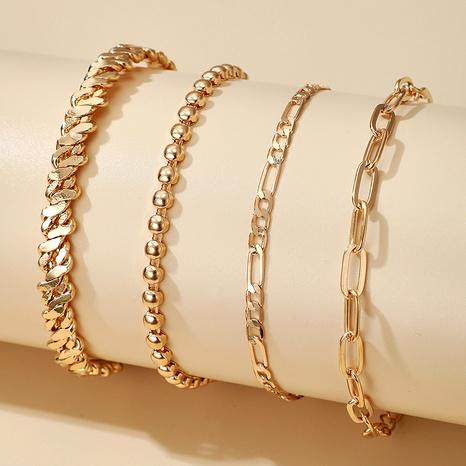 round bead chain bracelet multi-piece bracelet NHGY292128's discount tags