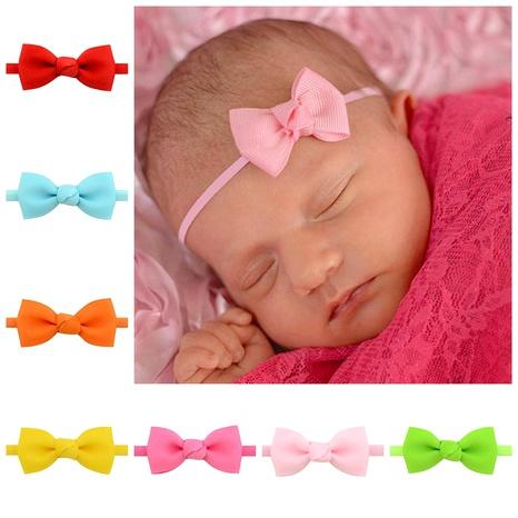 Diadema de lazo de cinta para niños nuevos NHMO292600's discount tags