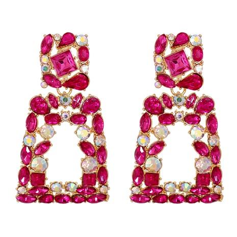 Fashion  Exaggerated  Diamond Geometric Long Earrings  NHJJ292651's discount tags