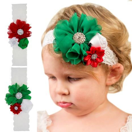 Bandeau de Noël Élastique Rose Fleur en Dentelle pour Enfants NHWO292732's discount tags