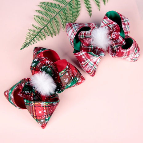 Pince à cheveux en treillis papillon mignon pour enfants de Noël NHWO292734's discount tags