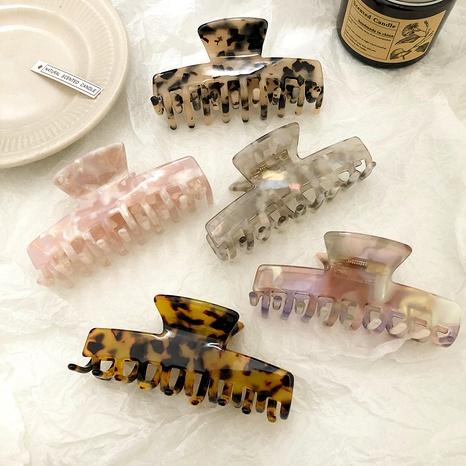 pince à cheveux à imprimé léopard NHNA292756's discount tags