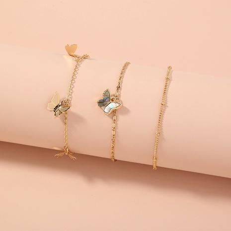nouveau bracelet papillon en trois dimensions géométrique simple NHAN292805's discount tags