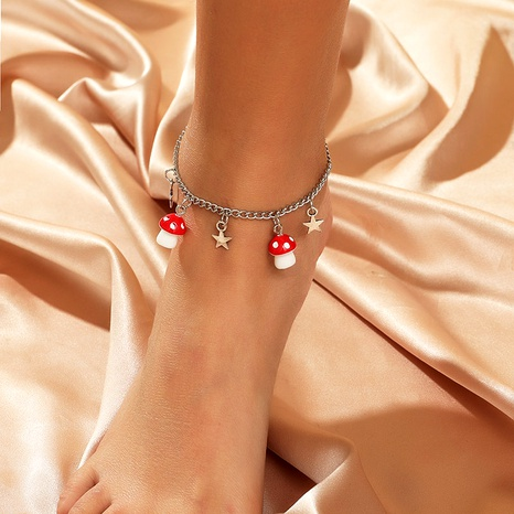 bohemian star mushroom anklet  NHLA292814's discount tags