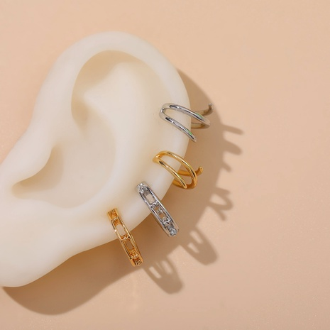 simple C-shaped ear clip NHLL292819's discount tags