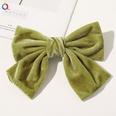 NHDM1321011-C143-Gold-Velvet-Bow-Hairpin-Grass-Green