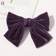 NHDM1321013-C143-Gold-Velvet-Bow-Hairpin-Grape-Purple