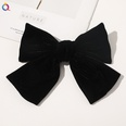 NHDM1321015-C143-Gold-Velvet-Bow-Hairpin-Black