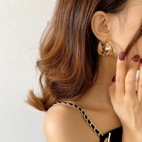 fashion gold big earrings  NHYQ292845's discount tags