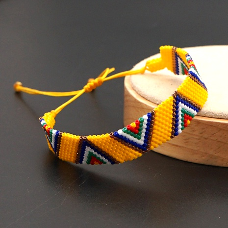 Miyuki Japanese rice bead bracelet  NHGW292919's discount tags