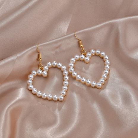 süße herzförmige süße Ohrringe NHBQ292940's discount tags
