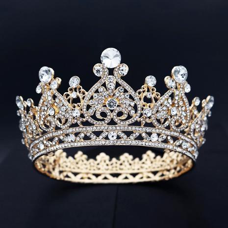 Bridal head accessories retro crown  NHHS293021's discount tags