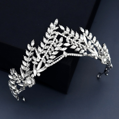 wedding jewelry rhinestone alloy crown  NHHS293023's discount tags