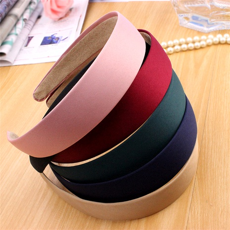 solid color wide-brimmed headband NHGE293204's discount tags