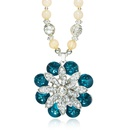 retro beads necklace NHGE293206