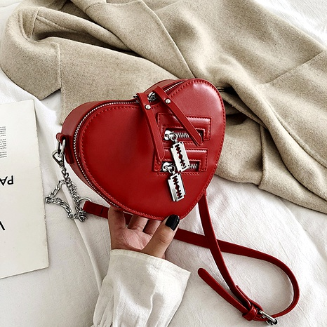 fashion heart messenger shoulder bag NHLH293385's discount tags